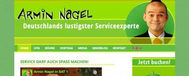 Deutschlands lustigster Serviceexperte Armin Nagel Komiker